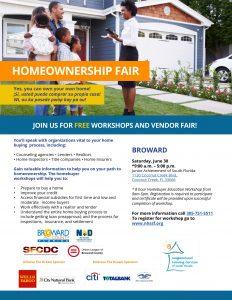 2018 NHSSF Homeownership Fair in Br