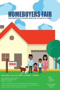 Homeownership Fair poster by Abigail