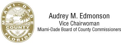 Audrey Edmonson, Commissioner logo