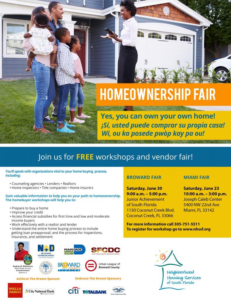 2018 Homeownership Fair Flyer