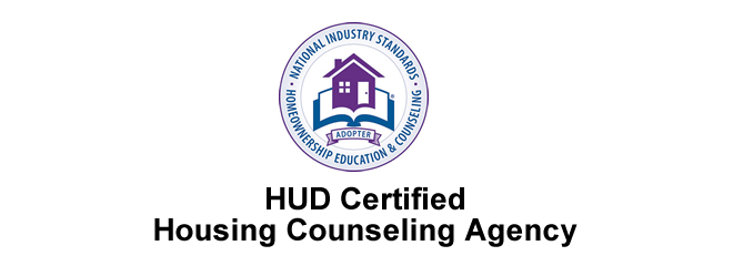 HUD certified Housing Counseling Agency logo