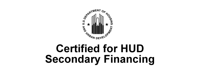 Certified for HUD secondary financing