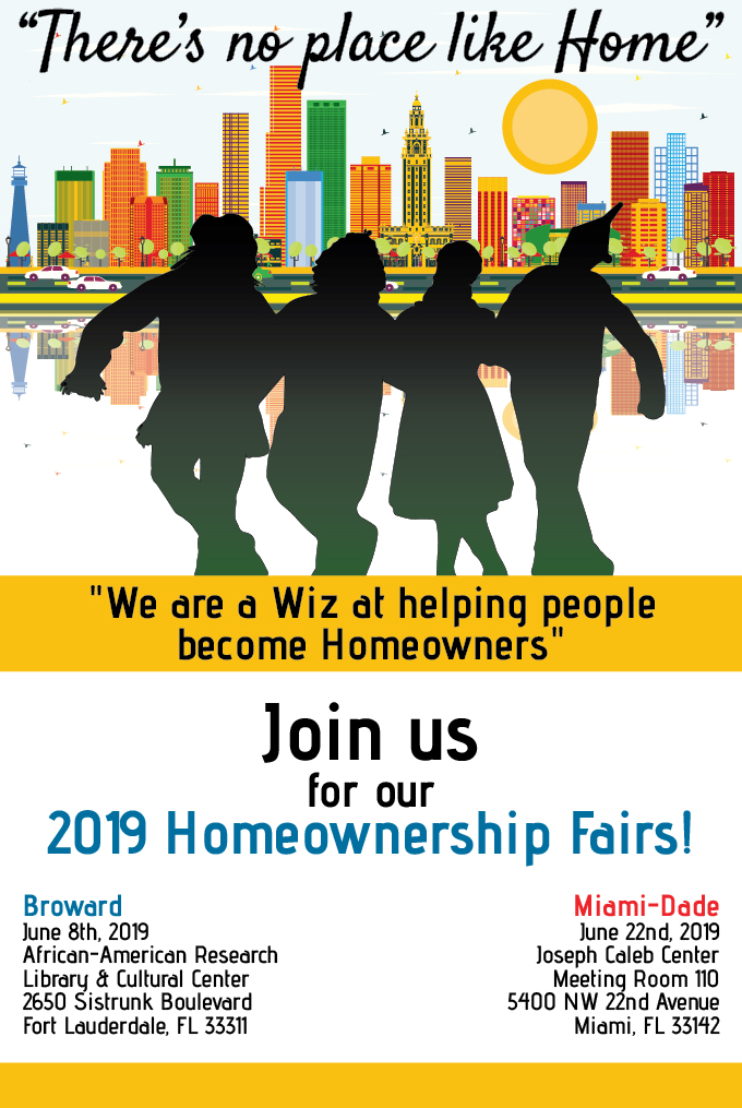 2019 Homeownership Fair flyer