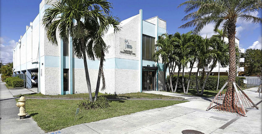The NHSSF Building at 300 NW 12 Avenue
