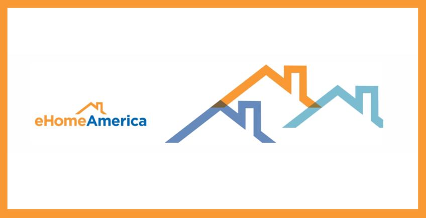 eHome America logo