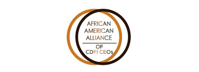 African American Alliance of CDFI CEOs logo