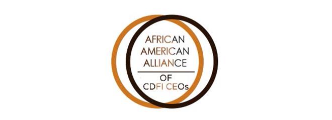 African American Alliance of CDFI CEOs logo