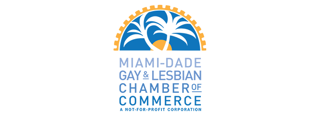 Miami-Dade Gay and Lesbian Chamber of Commerce logo