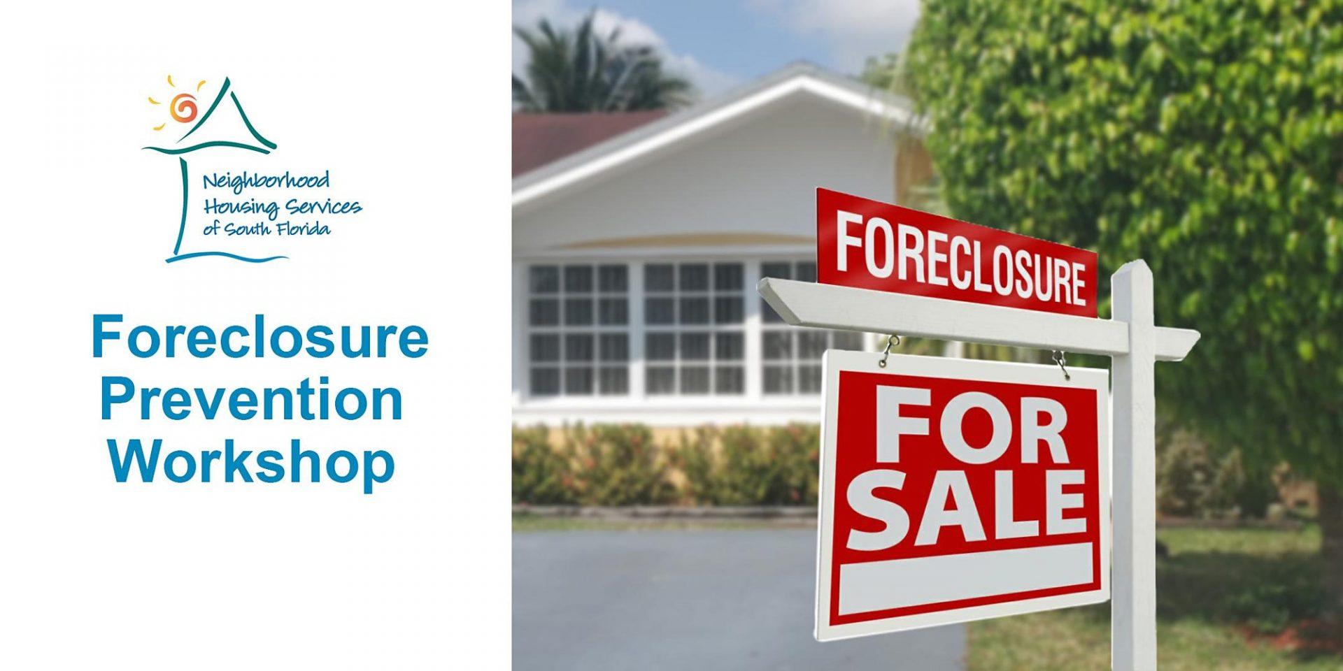 Foreclosure Prevention Workshop