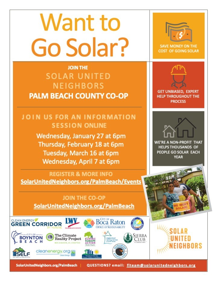 Solar Co-Op Opportunity