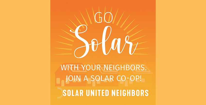 Go solar with your neighbors