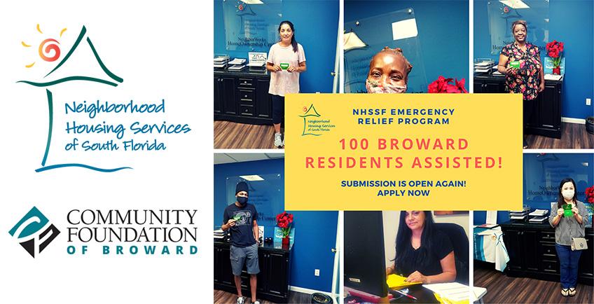 NHSSF Emergency Relief Program for Broward Residents