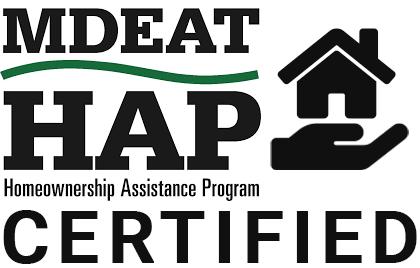 MDEAT HAP Certified logo